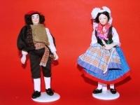 bambola in porcellana delle regioni d italia 02200 d