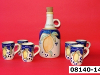 ceramica decoro limone 08140 14
